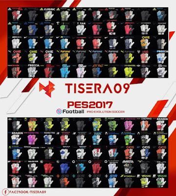 PES 2017 GlovePack V2by Tisera09