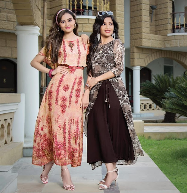 Manisha Fashion Myra vol 1 Party wear kurtis wholesaler