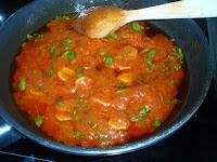 salsa para espaguetis