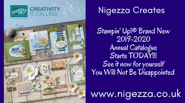 Nigezza Creates, Stampin' Up! 2019-2020 Annual Catalogue