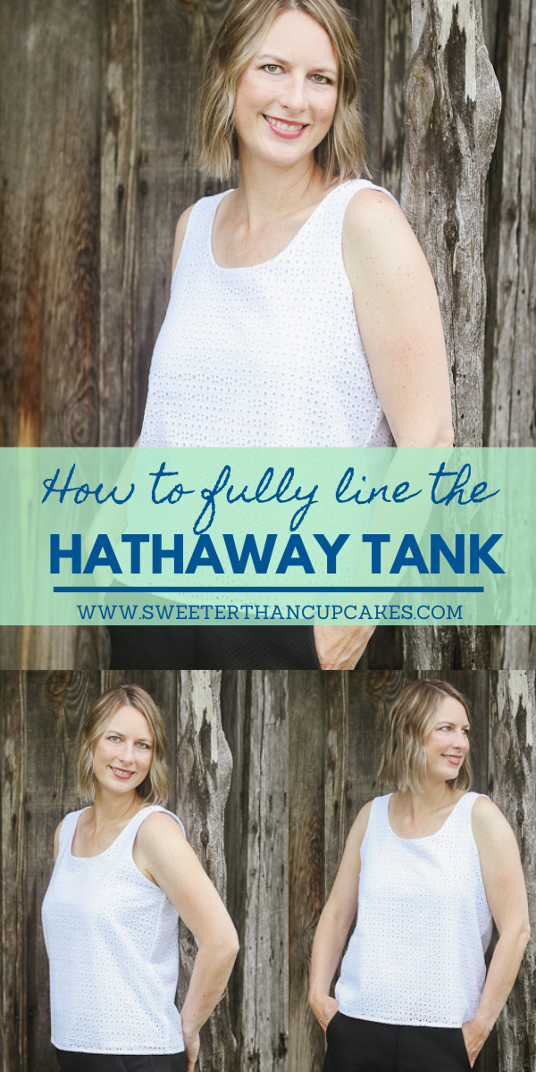 how to line the hathaway tank
