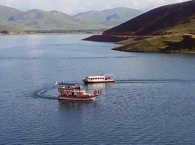 Demirözü barajı tekne turu