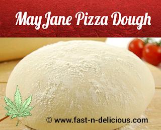 Cannabis Pizza Dough