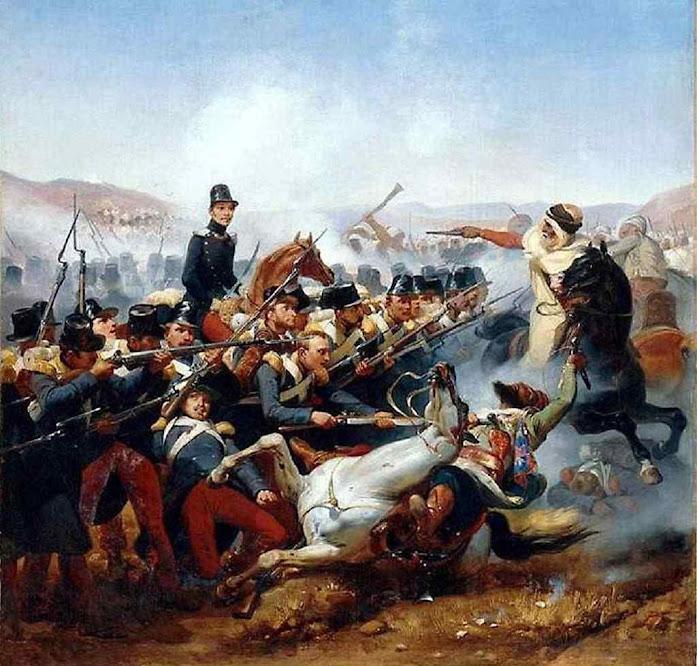 A Legião Estrangeira tomou corpo nas lutas contra mouros na Argélia