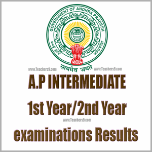 AP Intermediate 1st-year and 2nd-year Results-2018 @bieap.gov.in