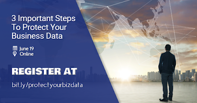 3 important steps you need to take to protect your business data