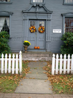 Fall Colonial Door Wreath