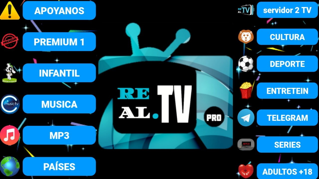 تطبيق خطير لمشاهدة القنوات الاجنبيه اللاتينية وقنوات+18 مجانا/Real-Tv