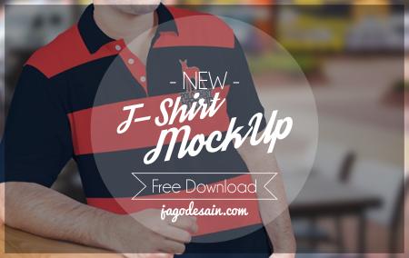 Download 15 T-Shirt Mockup Terbaru Gratis