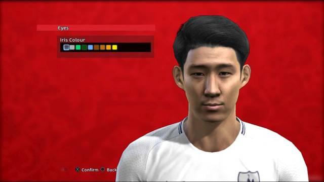 Son Heung-min Face PES 2013