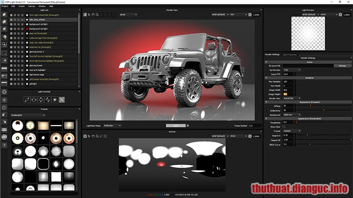 Download HDR Light Studio Carbon / Tungsten 6.2.0 Full Crack