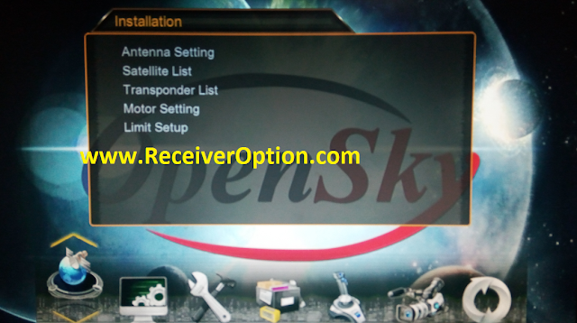 OPEN SKY HD265M 1507G 1G 8M NEW SOFTWARE WITH ECAST & NASHARE PRO OPTION
