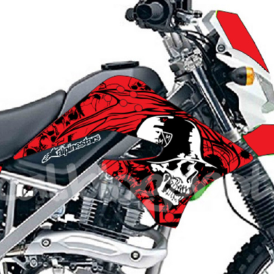 KLX Metal Mulisha - Merah