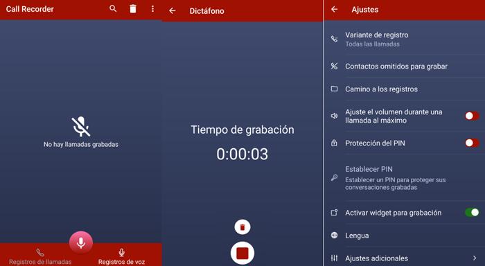 Las mejores apps para grabar llamadas desde tu móvil