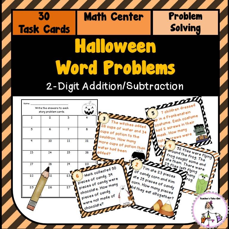 Teacher 39 S Take Out Key Words For Word Problems Freebie