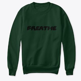 Breathe Kids Crew Neck Sweatshirt Dark Green