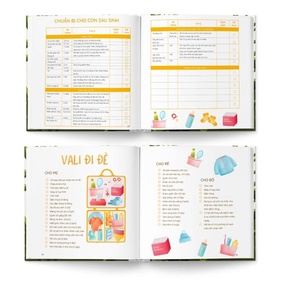 """[A116] Bookset """"Mẹ Bầu Zui"""": Quà tặng sinh nhật Bà Bầu cực chất"""