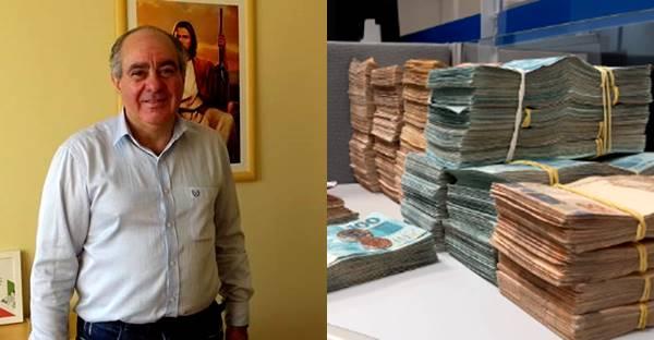 Prefeito de Major Vieira é preso por corrupção, lavagem de dinheiro e organização criminosa
