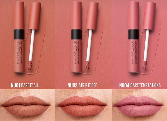 Sensational Liquid Matte Lip Cream