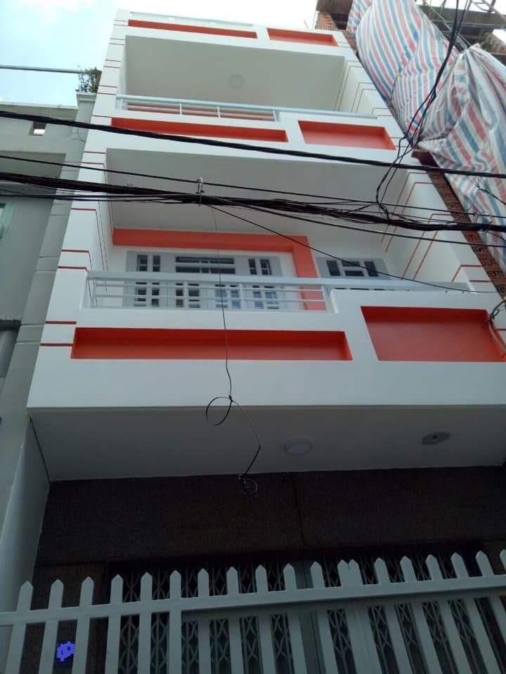 Bán nhà quận Bình Tân, hẻm 100 Miếu Gò Xoài, phường Bình Hưng Hòa A. Dt 4x12m