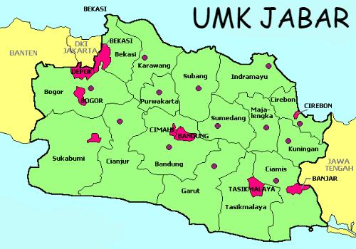 UMK Provinsi Jawa Barat