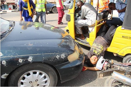 Accident Simulation Causes a Scare In Niger State... See What ...