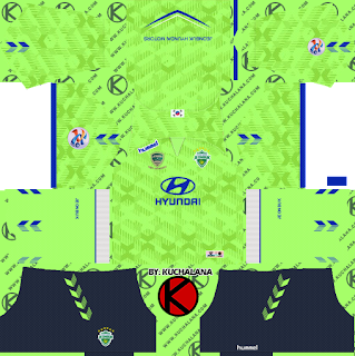 Jeonbuk Hyundai Motors FC 2019 ACL Kit - Dream League Soccer Kits