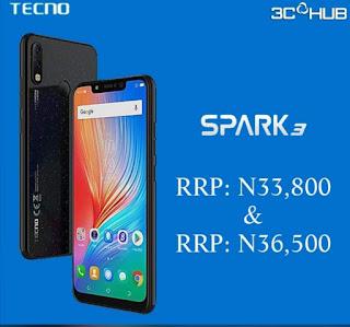 Tecno spark 3 specs and price