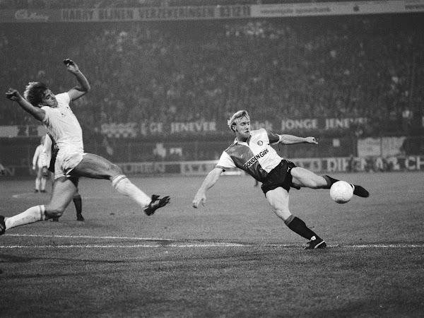 Een volley van André Hoekstra tegen Tottenham