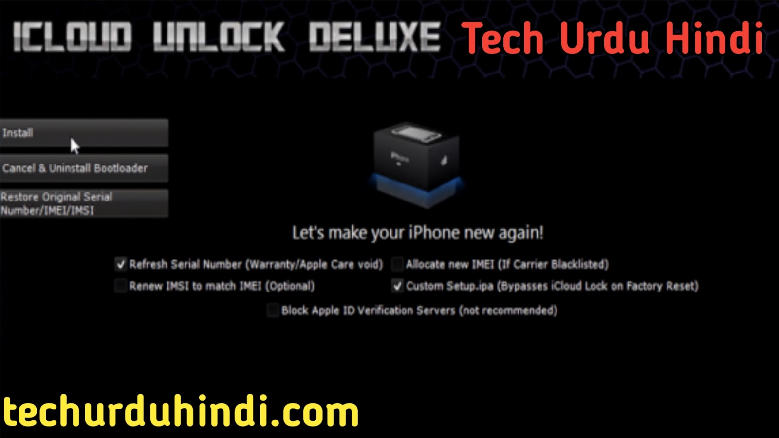 Iphone Icloud Removal Tool - Tech Urdu Hindi   Tips and
