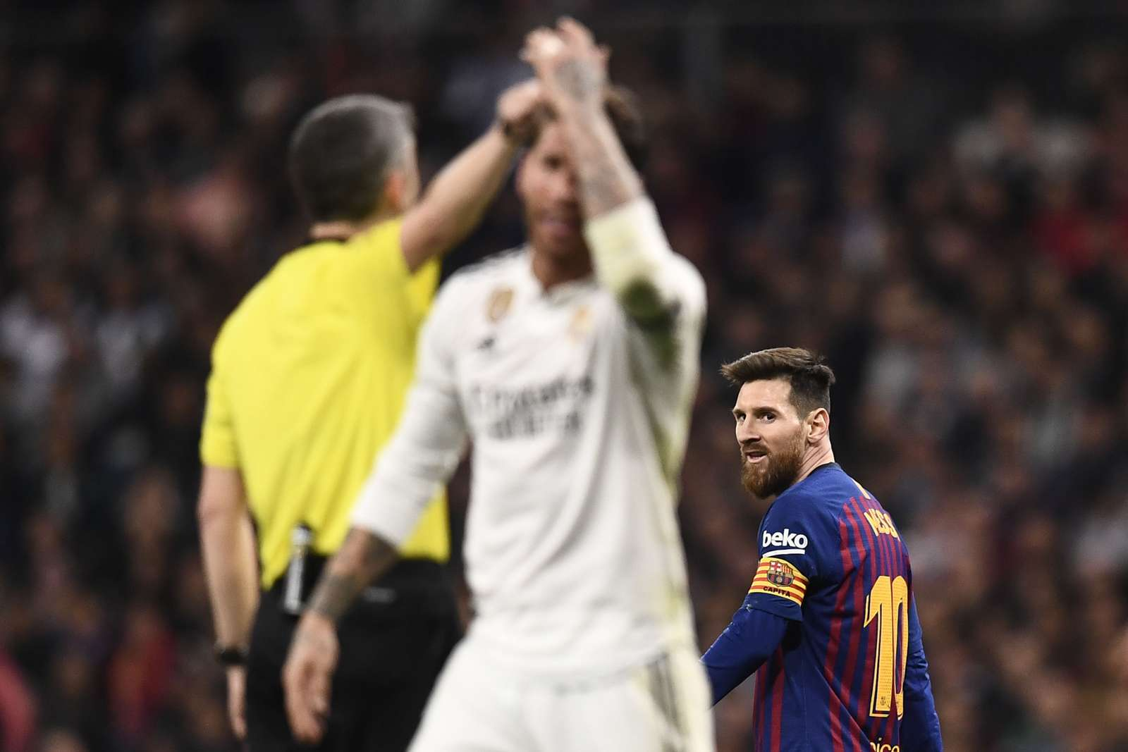 Madridista anger over The Clásico referee