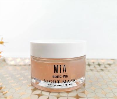 Mia Cosmetics - Mascarilla de noche con pétalos de jazmín