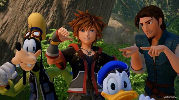 لعبة Kingdom Hearts 3 تحقق انطلاقة قياسية و تسجل مبيعات تاريخية..