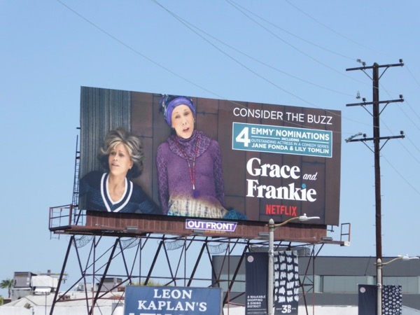 Grace Frankie season 3 Emmy nominations billboard