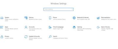 Pengaturan waktu dan bahasa di windows 10