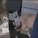 controlando desde un móvil la temperatura de la barbacoa camp chef woodwind 24