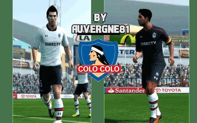Colo-Colo New Kit 2017 PES 2013