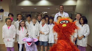 Murray Ovejita, Little Vet School, Murray Has a Little Lamb, Sesame Street Episode 4419 Judy and the Beast season 44