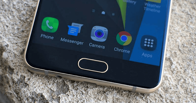 Cara Screenshot di Samsung Galaxy C7 Pro