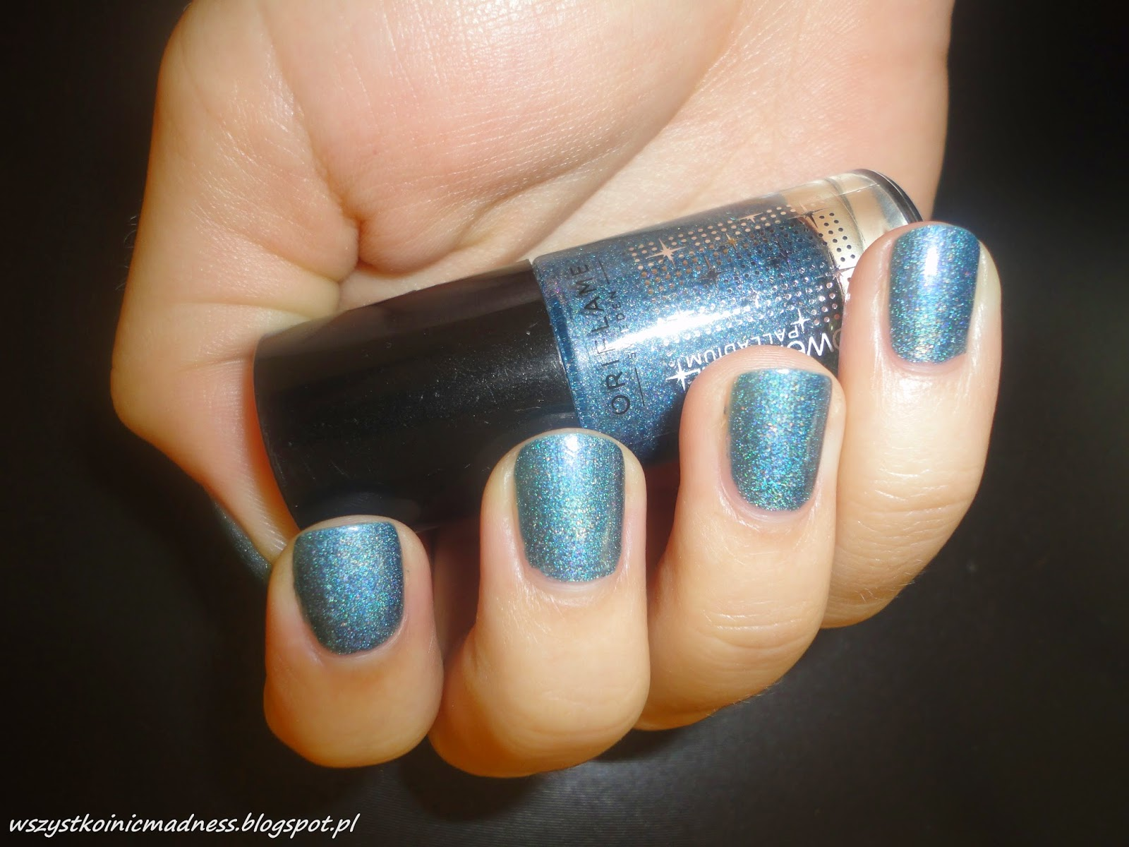 Oriflame Power Shine Palladium Blue Iridescence