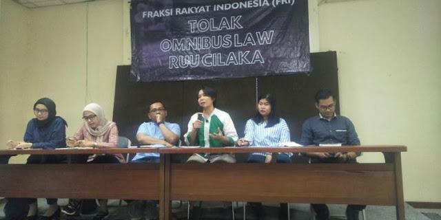 Fraksi Rakyat Menyatakan Mosi Tak Percaya Kepada Pemerintah dan DPR