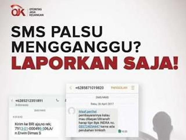 Inilah Nomor Kontak dan E-Mail Untuk Melaporkan SMS Penipuan