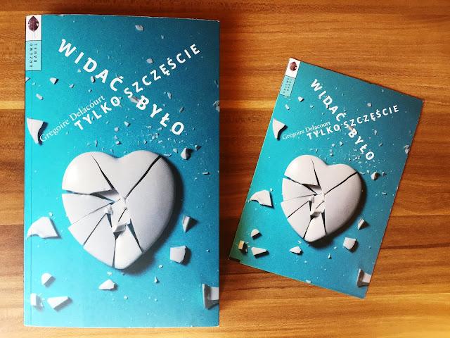 """Recenzje #107 - """"Widać było tylko szczęście"""" - okładka książki pt. """"Widać było tylko szczęście"""" - Francuski przy kawie"""