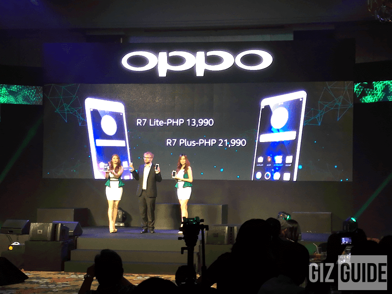 OPPO R7 PLUS AND OPPO R7 LITE NOW OFFICIAL IN PH! PRICED AT 21,990 AND 13,990 PESOS RESPECTIVELY!