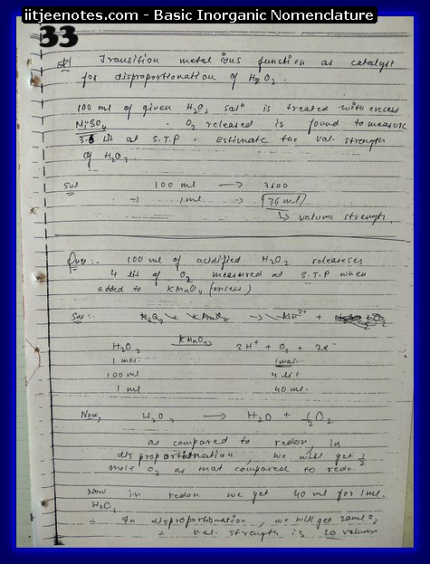 Inorganic Nomenclature chemistry5