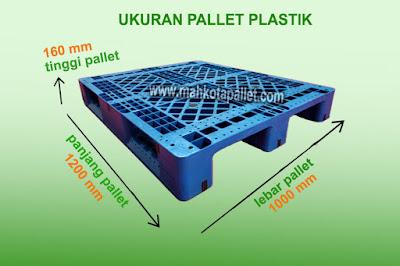 Ukuran Pallet Plastik | Tipe Spesifikasi Palet Plastik Langkap