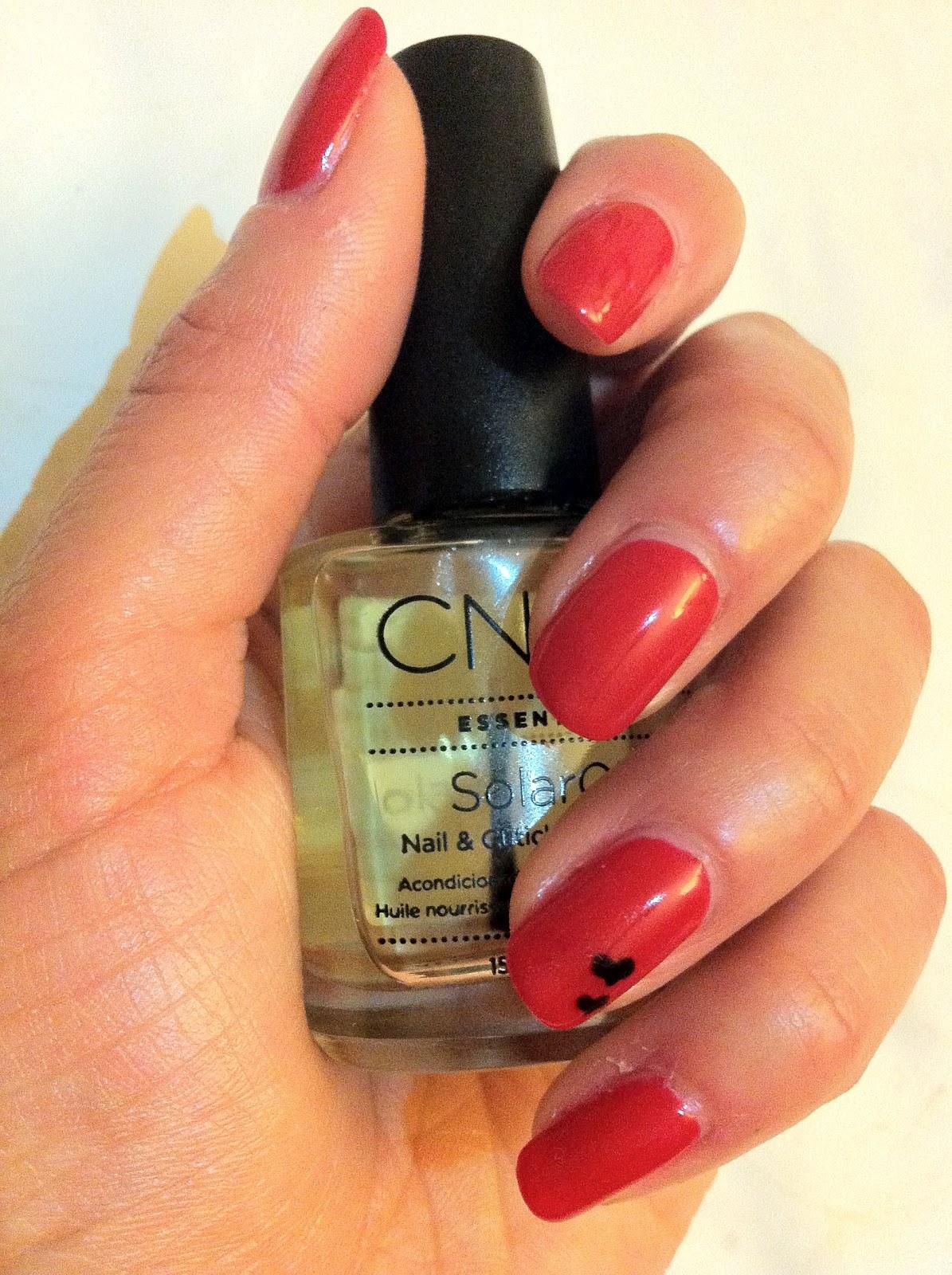 Brush Up And Polish Up!: CND Shellac Wildfire Experimentation