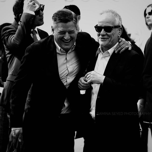 Ted Sarandos and Thierry Frémaux