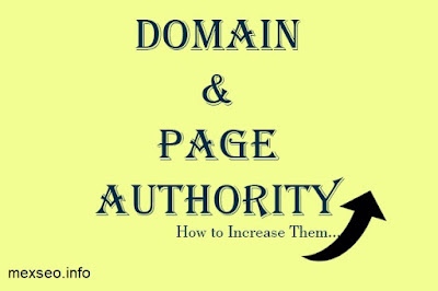 Page and Domain Authority