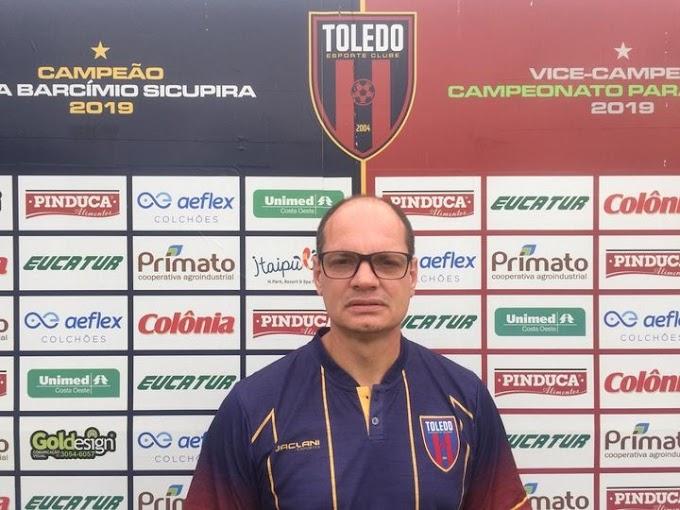 Toledo Esporte Clube inicia temporada 2021 com novo Técnico e outras novidades